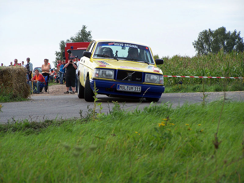 Silvio & Jeanette - Rallye Bad Schmiedeberg 2006 (Foto: Stephan Wilhelm)