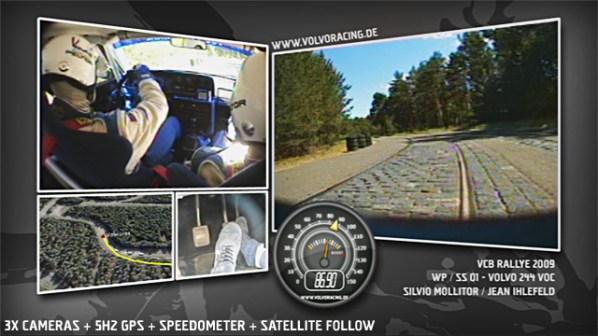 VCB Rallye 2009 - Onboard WP1